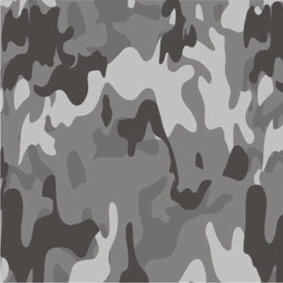 Adesivo Camuflado Cinza (Largura 1m) - VENDA POR METRO