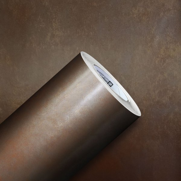 Adesivo Gold Metal Aço Corten Ferrugem 01 (Largura 1,22m)