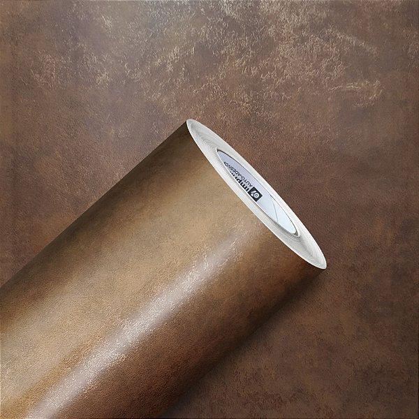 Adesivo Gold Metal Aço Corten Ferrugem 02 (Largura 1,22m) - VENDA POR METRO