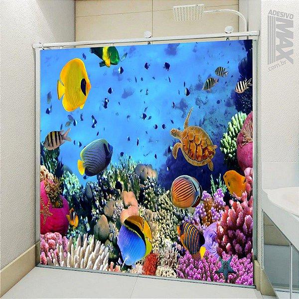 Adesivo Box - Fundo do Mar Colorido 2