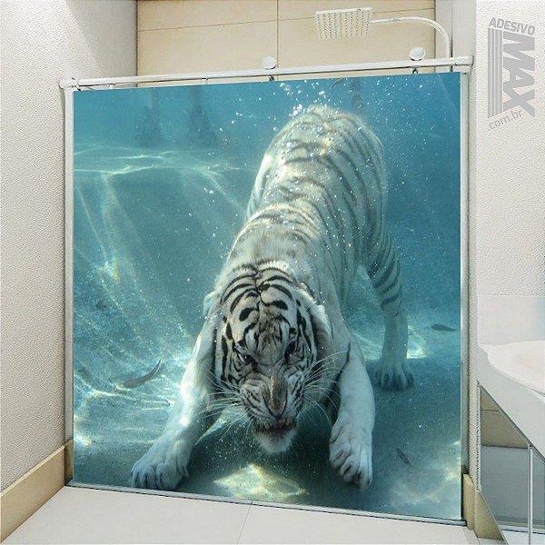 Adesivo Box - Tigre Branco