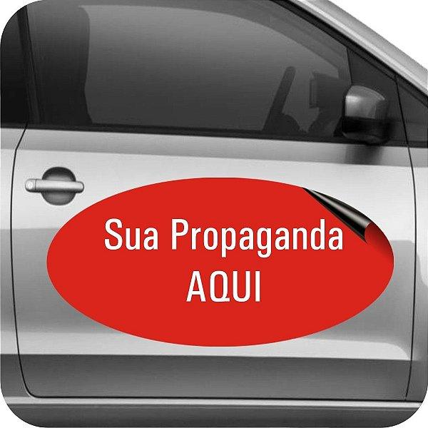 Manta Magnética Veículos Personalizada OVAL