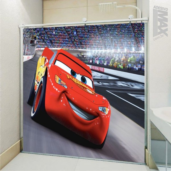 Adesivo Box - Carros McQueen