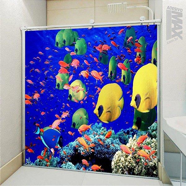 Adesivo Box - Peixes Coloridos