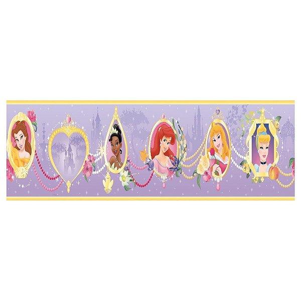 Faixa para Quarto Princesas Disney 3