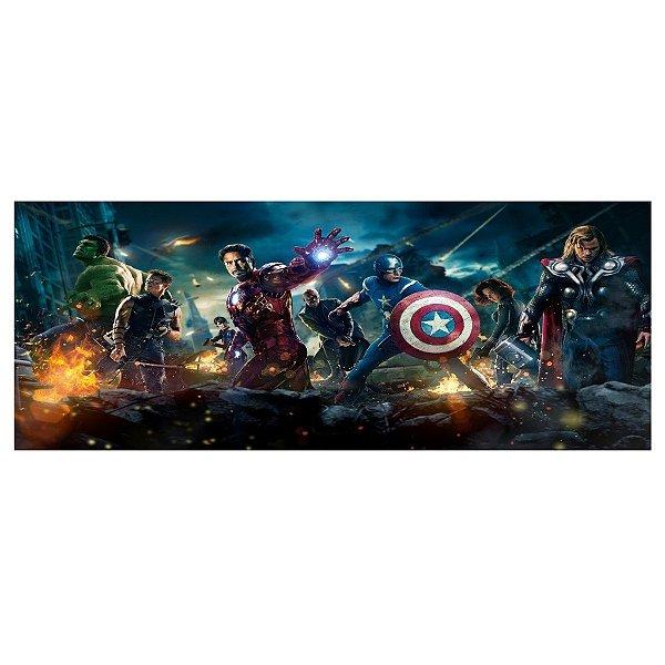 Faixa para Quarto Avengers Vingadores