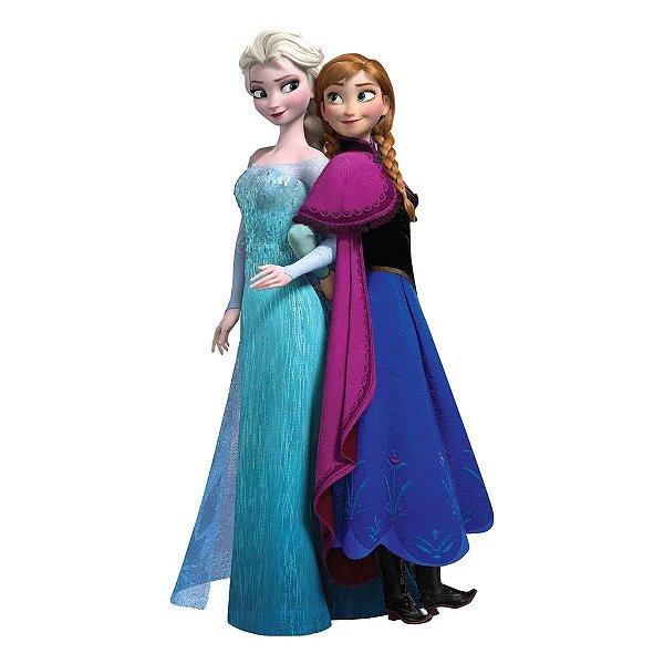 Adesivo Recortado - Frozen Anna e Elsa