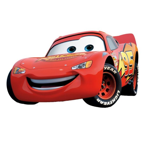 Adesivo Recortado - Carros McQueen
