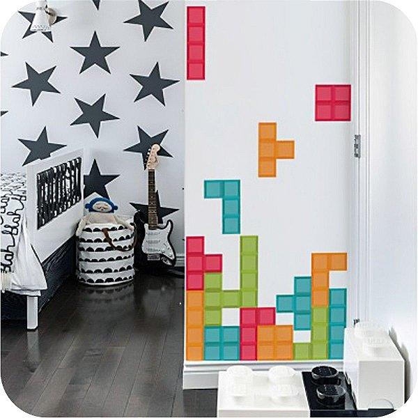 Adesivo Decorativo Tetris