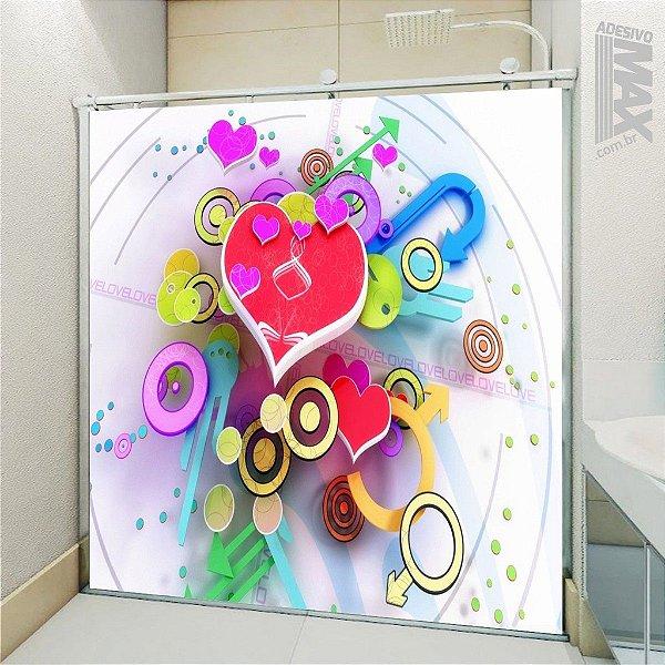 Adesivo Box - Love Colors
