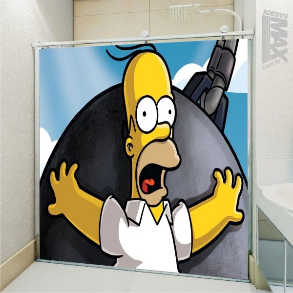 Adesivo Box - Simpsons Homer 1