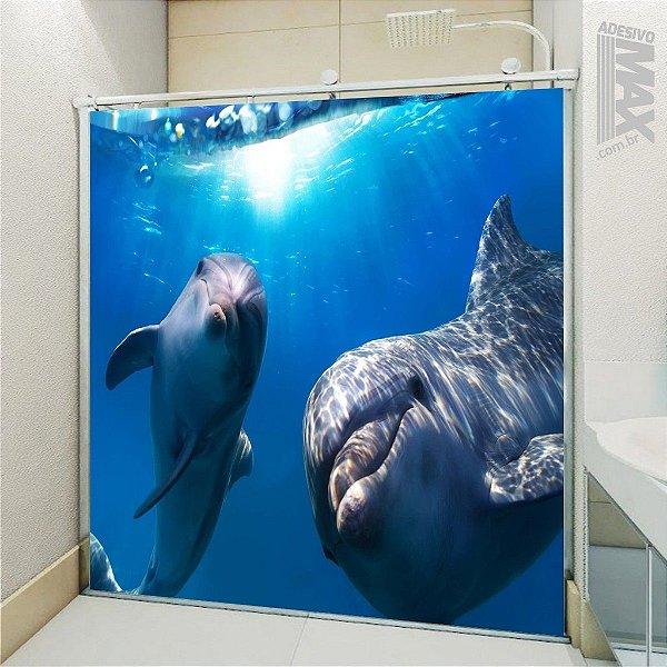Adesivo Box - Golfinhos Curiosos