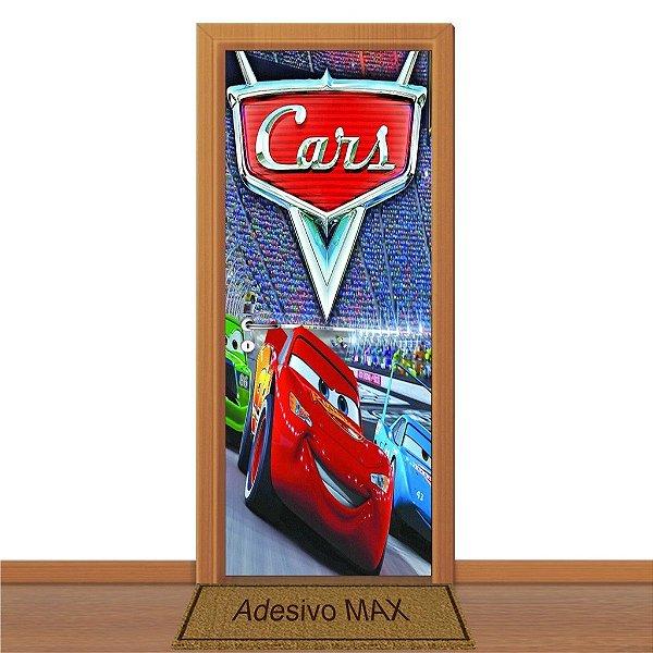 Adesivo de Porta - Carros McQueen 1