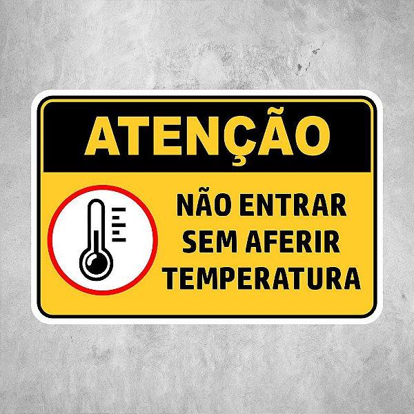 Aferir a Temperatura COVID 19 Amarela