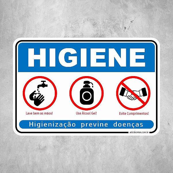 Higiene para Prevenção de Doenças COVID 19