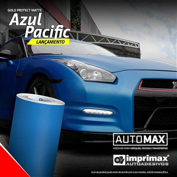 Adesivo Gold Protect Matte Azul Pacific (Rolo 5m x 1,40m)