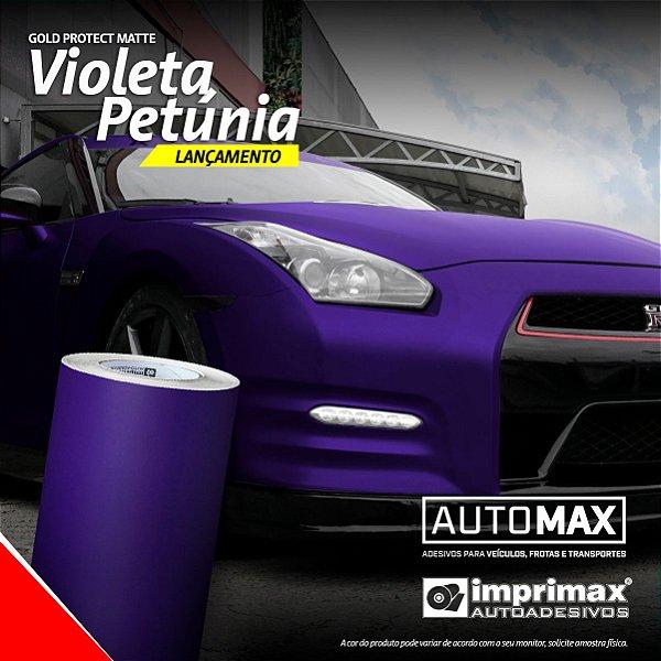 Adesivo Gold Protect Matte Violeta Petúnia (Rolo 5m x 1,40m)