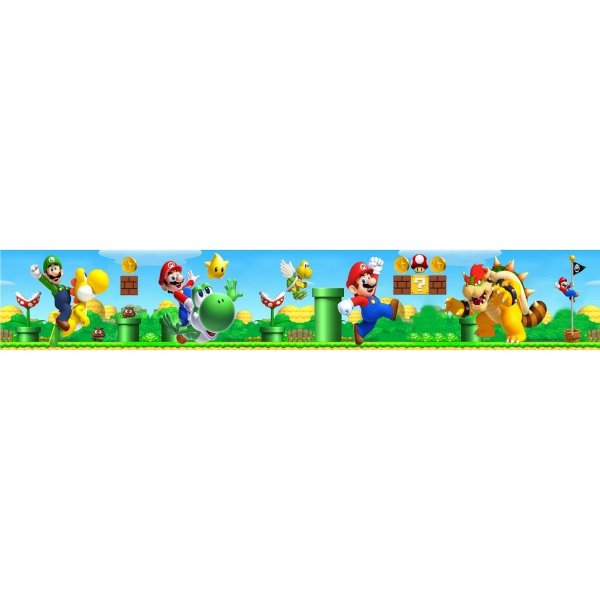 Faixa para Quarto Super Mario Bros