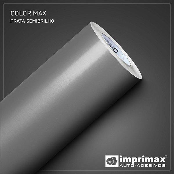 Adesivo Color MAX Prata (Largura 1m) - VENDA POR METRO