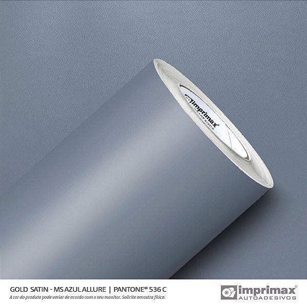 Adesivo Gold Satin MS Azul Allure (Largura 1,22m) - VENDA POR METRO