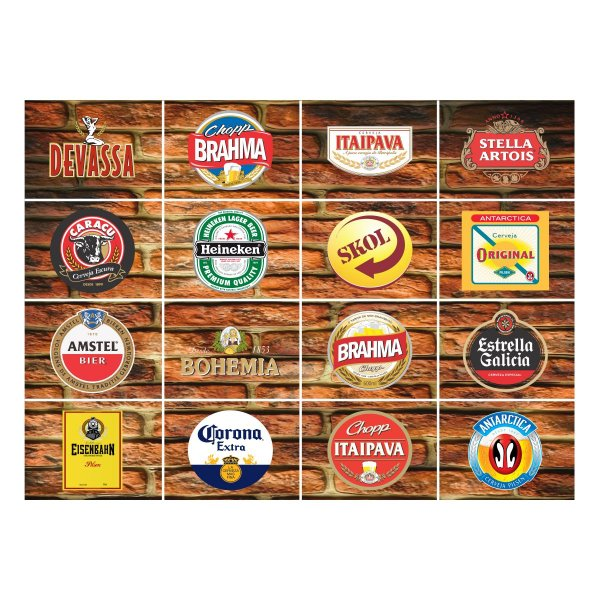 Adesivo Rótulos de Cerveja