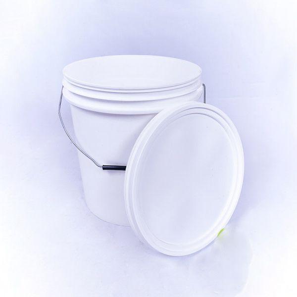 Balde 20 Litros Branco Higienizado (162-7)