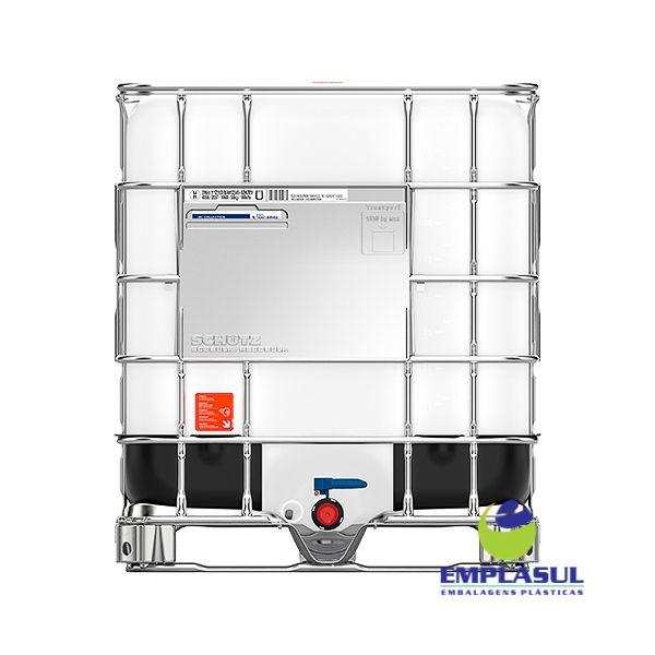 Container IBC 1000 Litros Higienizado (134-1)