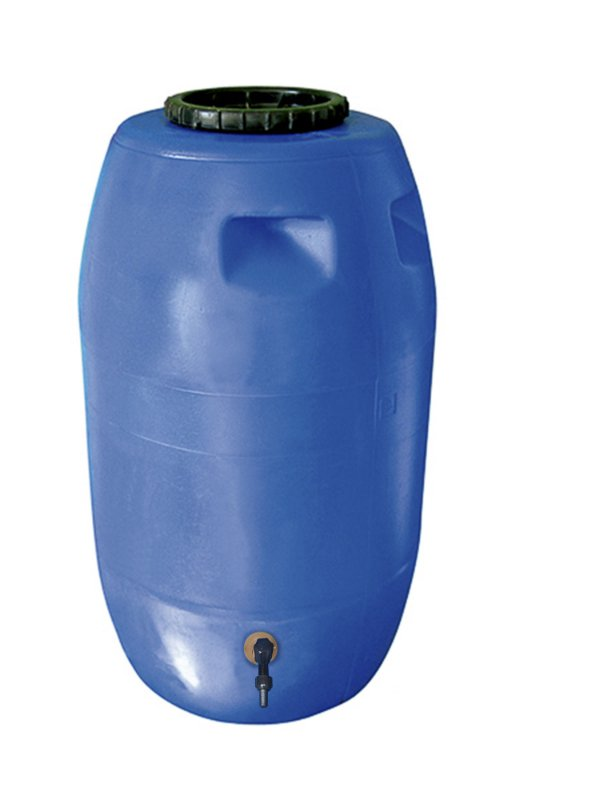 Bombona 220 Litros Higienizada com Torneira