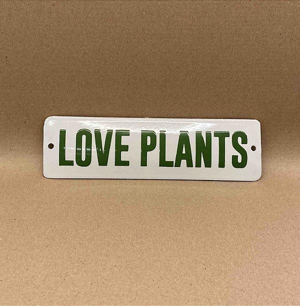 PLACA LOVEPLANTS