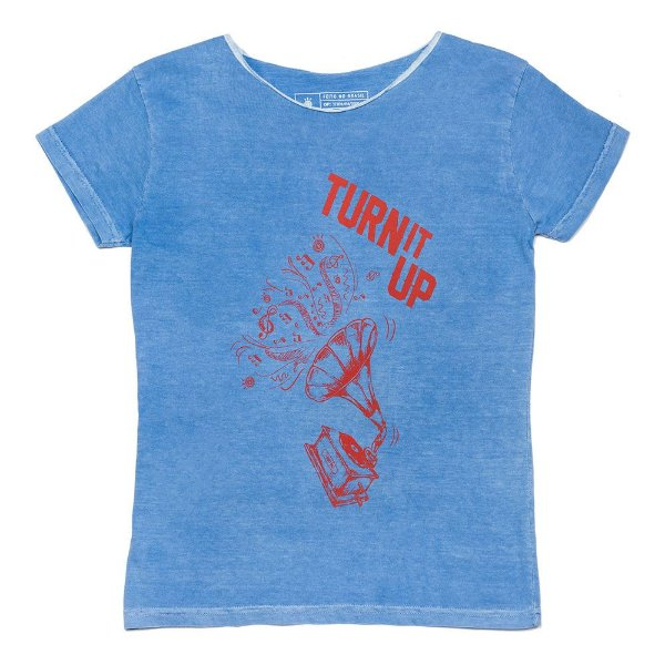Camiseta Vamvaki Feminina Turn It Up
