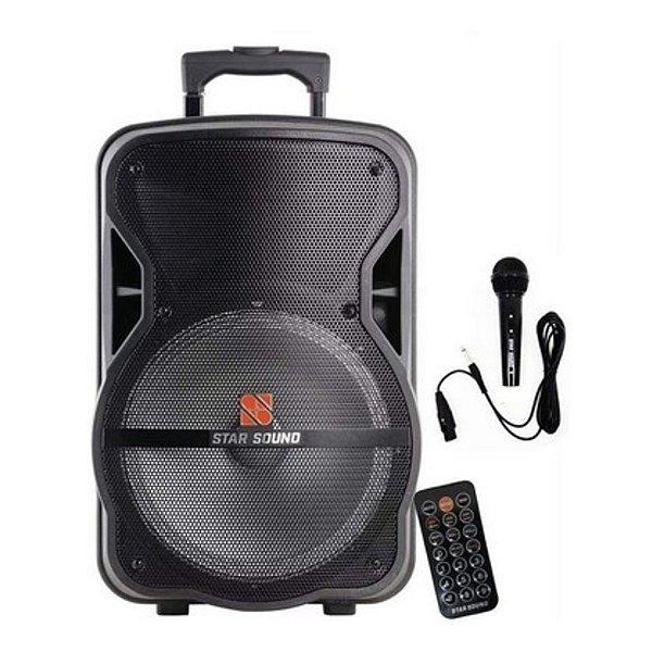 Caixa Acústica Ativa Com Bateria Star Sound SS100 - STANER
