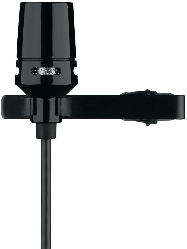 Microfone com fio Lapela CVL-B/C TQG - SHURE