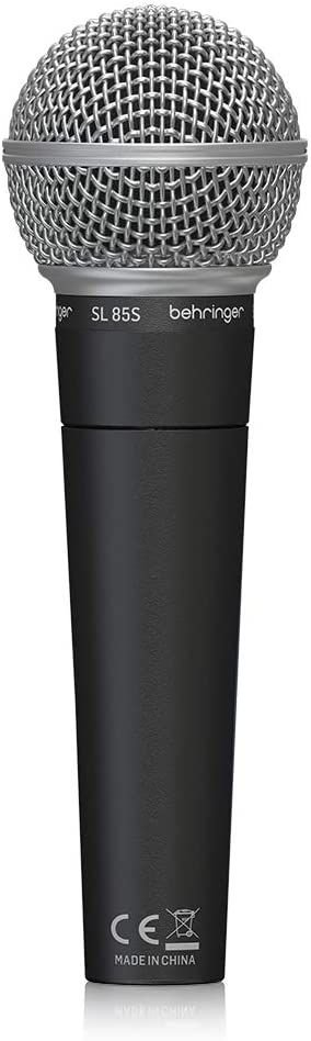 Microfone Cardióide Dinâmico SL85S  - Behringer