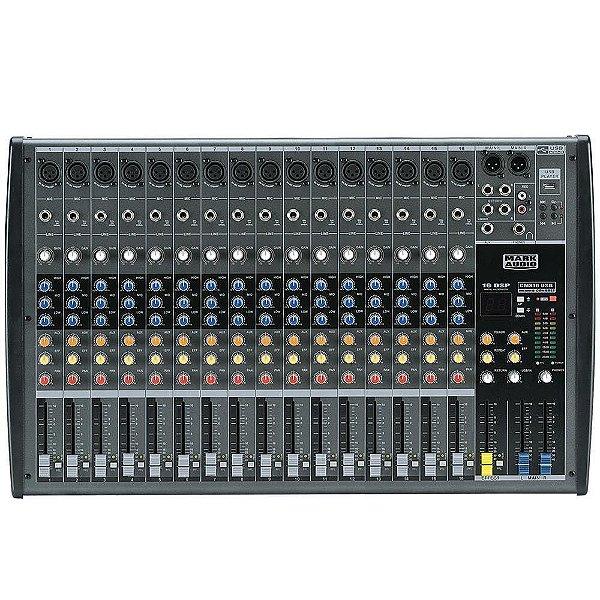 Mesa De Som Com 16 Canais CMX16-USB - MARK AUDIO