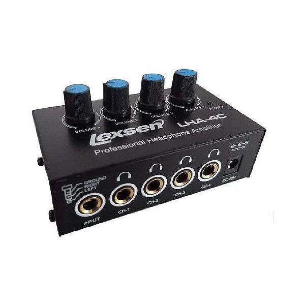 Amplificador Para Fone De Ouvido LHA4C - LEXSEN