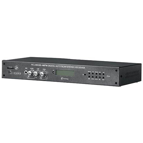 Receiver Digital Stereo RC 200 USB - NCA