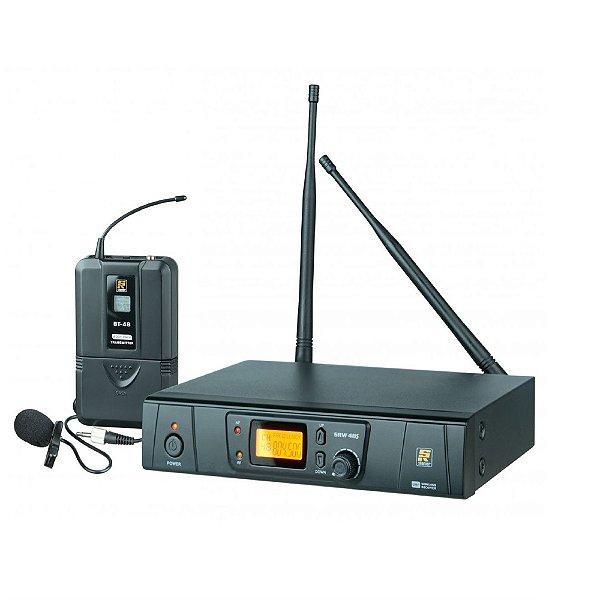 MICROFONE SEM FIO LAPELA SRW 48S/BT48 - STANER