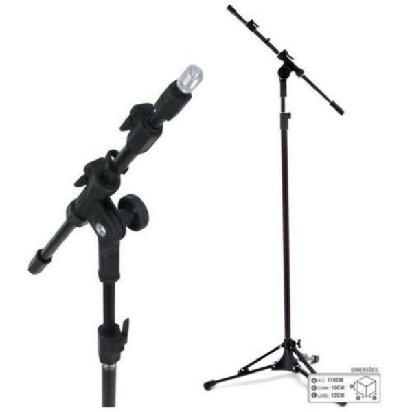 Pedestal Suporte Para Microfone PSU0090 - RMV