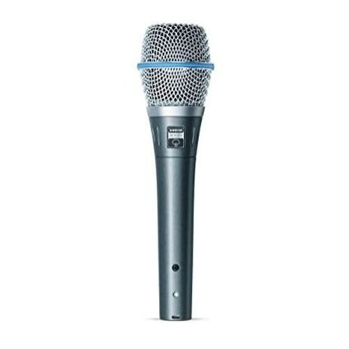Microfone Bastão Com Fio Supercardioide BETA 87A - SHURE
