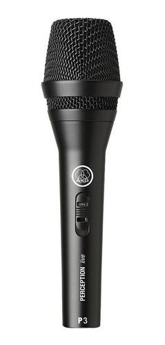 Microfone Profissional Dinamico Vocal Perception P 3S - AKG