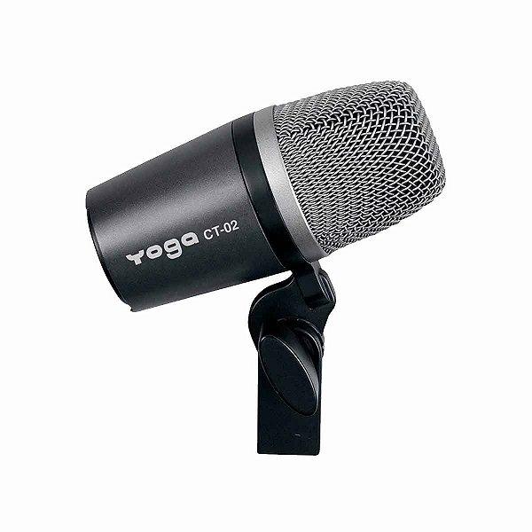 Microfone Profissional Dinamico Para Bateria CT02 - YOGA