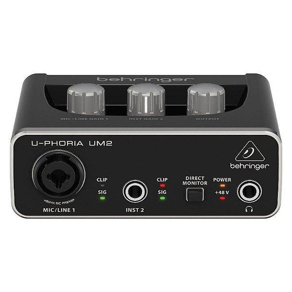 Interface De Audio  Behringer U-PHORIA UM2