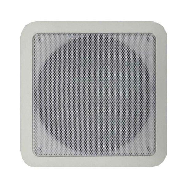 Arandela Coaxial 6Pol. 68W Quadrada Branca CQ 670 PPN - DSK