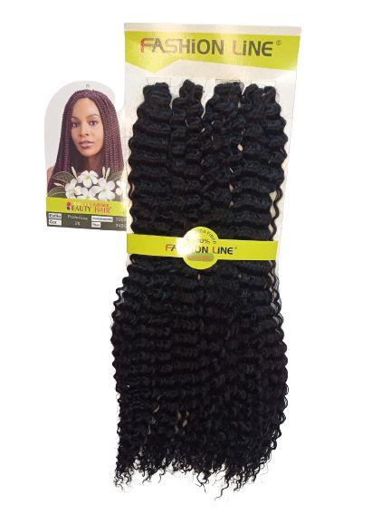 Cabelo Poderosa - Fashion Line 240g (cor 2 - Castanho escuro)
