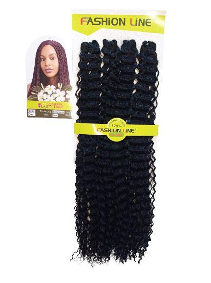 Cabelo Poderosa - Fashion Line 240g (cor 1B - Preto)