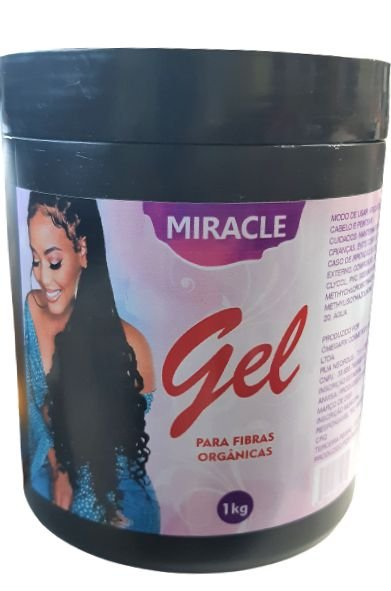 GEL Miracle 1Kg( Para Fibra Orgânicas)