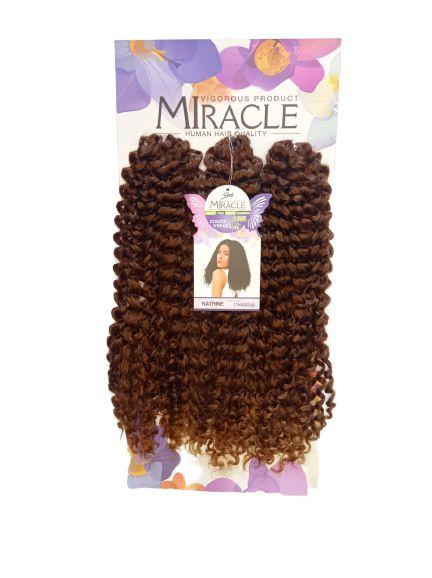 Cabelo Miracle Katrine 220g - Crochet Brad -( cor T4+340/27+30 , LOIRO MEL )