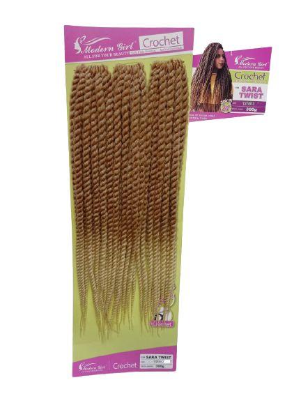 Twist Sara - Crochet - ( cor T27/613 Loiro mel com loiro claro )