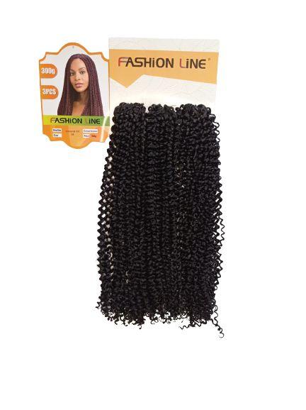 CABELO   Viviana 300GR ( COR 1B  preto ) fashion line