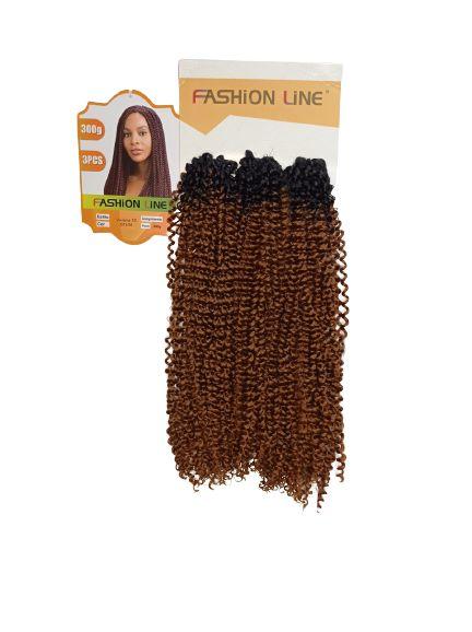 CABELO   Viviana 300GR ( COR OT4/30 Preto com ombre hair  cobre)